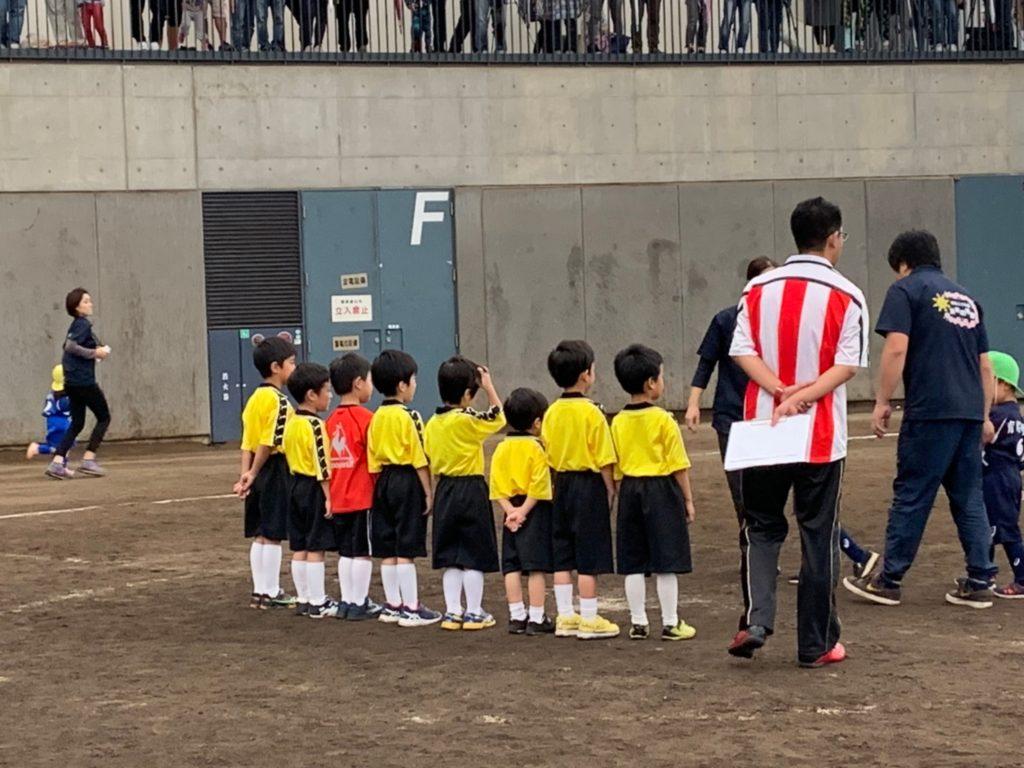 サッカー大会①